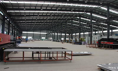 铝单板生产车间