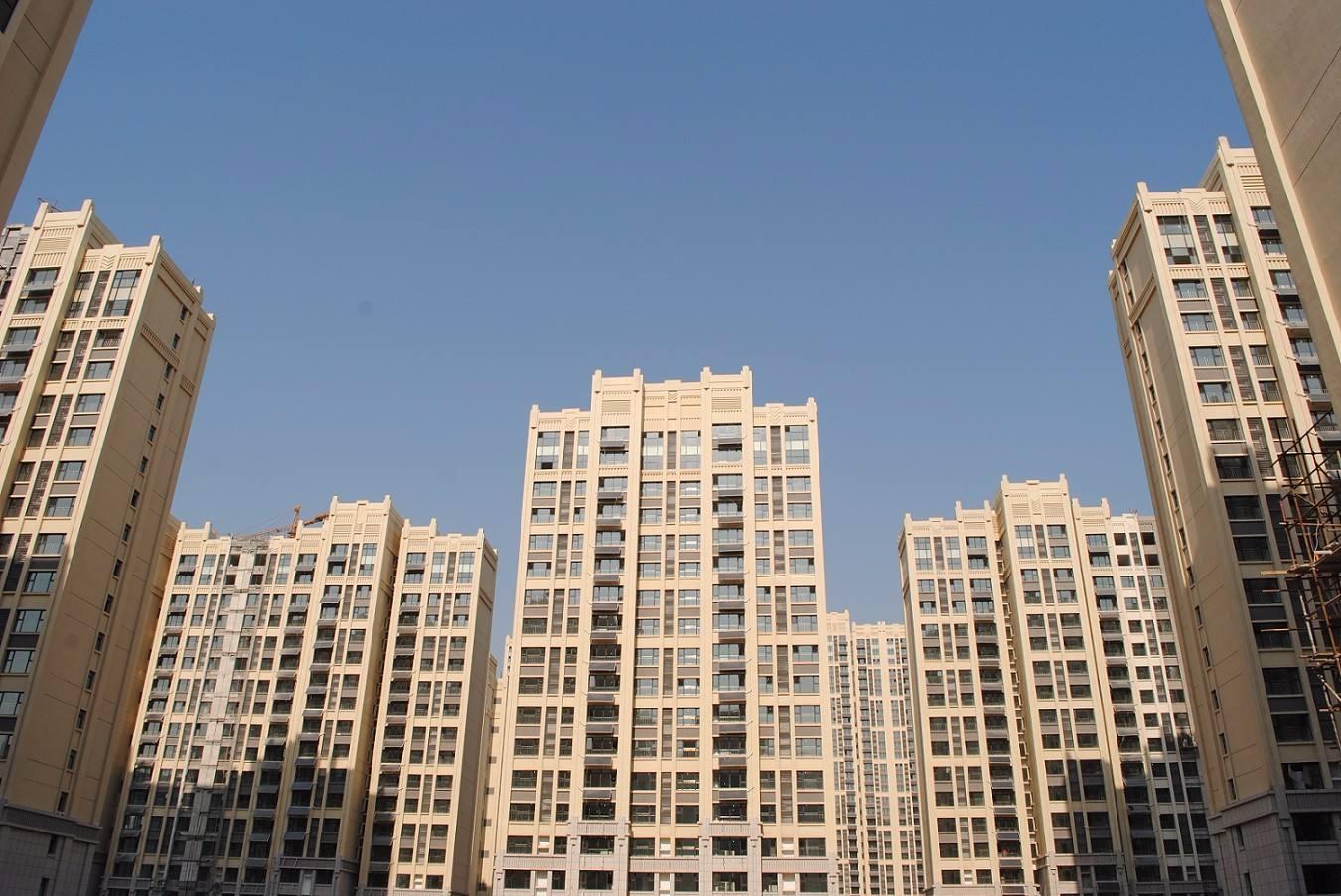 中铁国际城使用金锐铝单板案例
