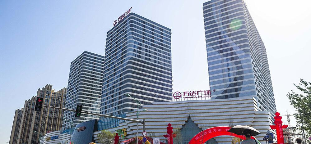 银川万达广场使用金锐氟碳铝单板案例
