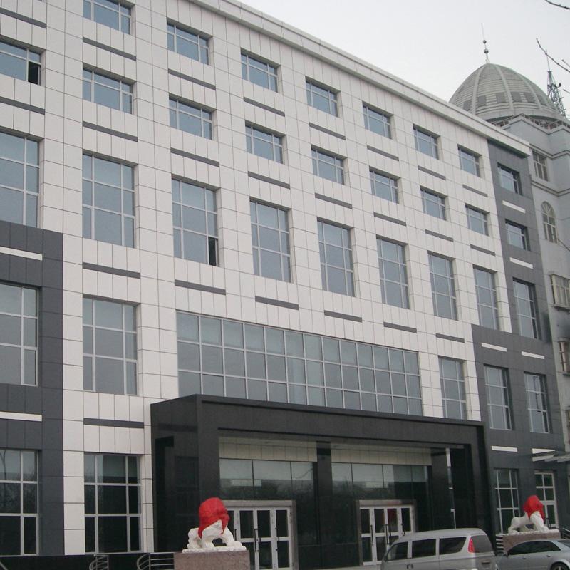 金锐乌鲁木齐海关大楼使用硅钙板保温装饰一体板案例
