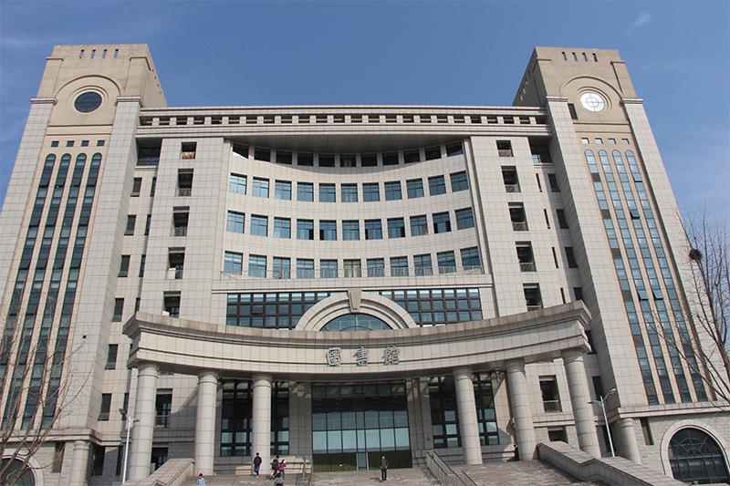 安徽农业大学图书馆使用金锐仿石材铝单板案例