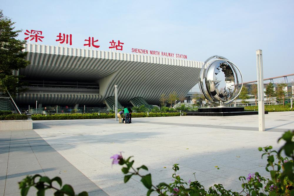 高铁深圳北站使用金锐氟碳铝单板案例