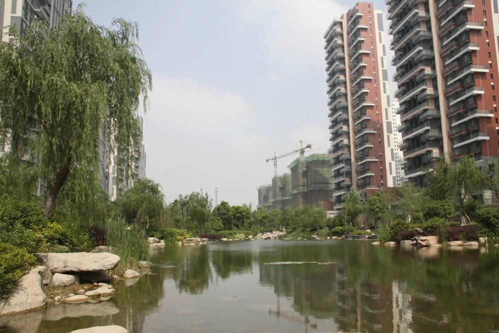 合肥市家天下小区使用金锐氟碳外墙铝单板案例