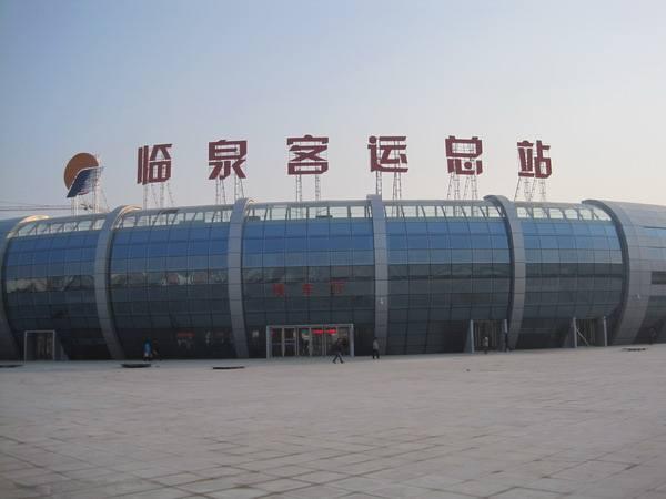 临泉客运总站使用金锐仿石材铝单板案例