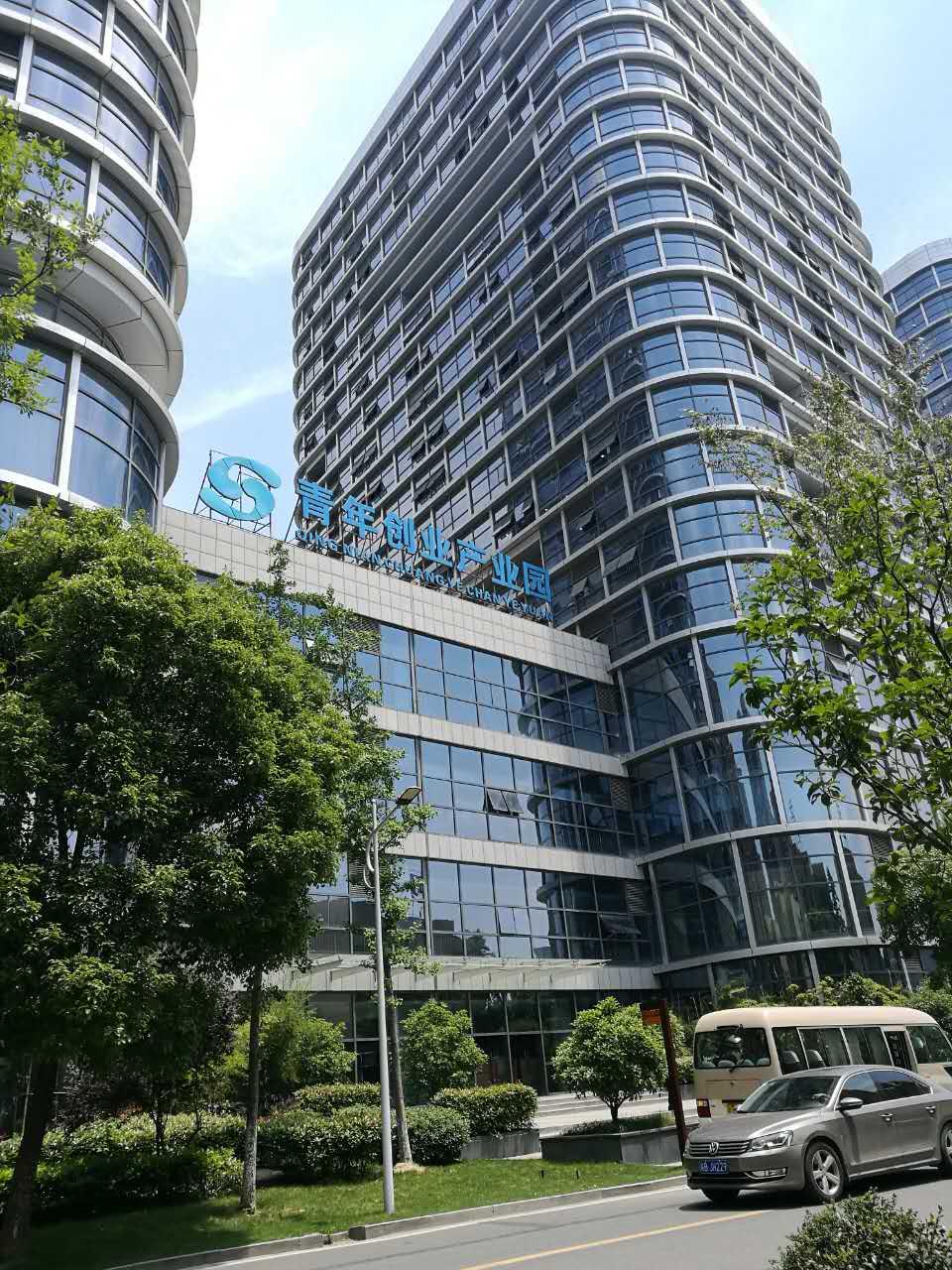 芜湖青年创业产业园使用金锐氟碳铝单板案例