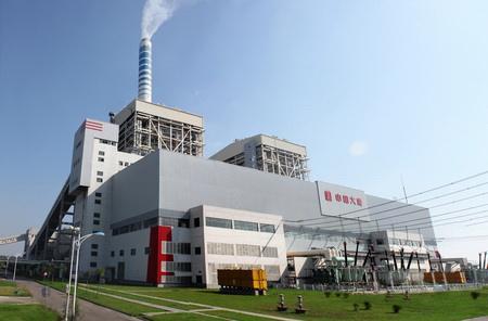 马鞍山当涂发电厂使用金锐氟碳铝单板案例