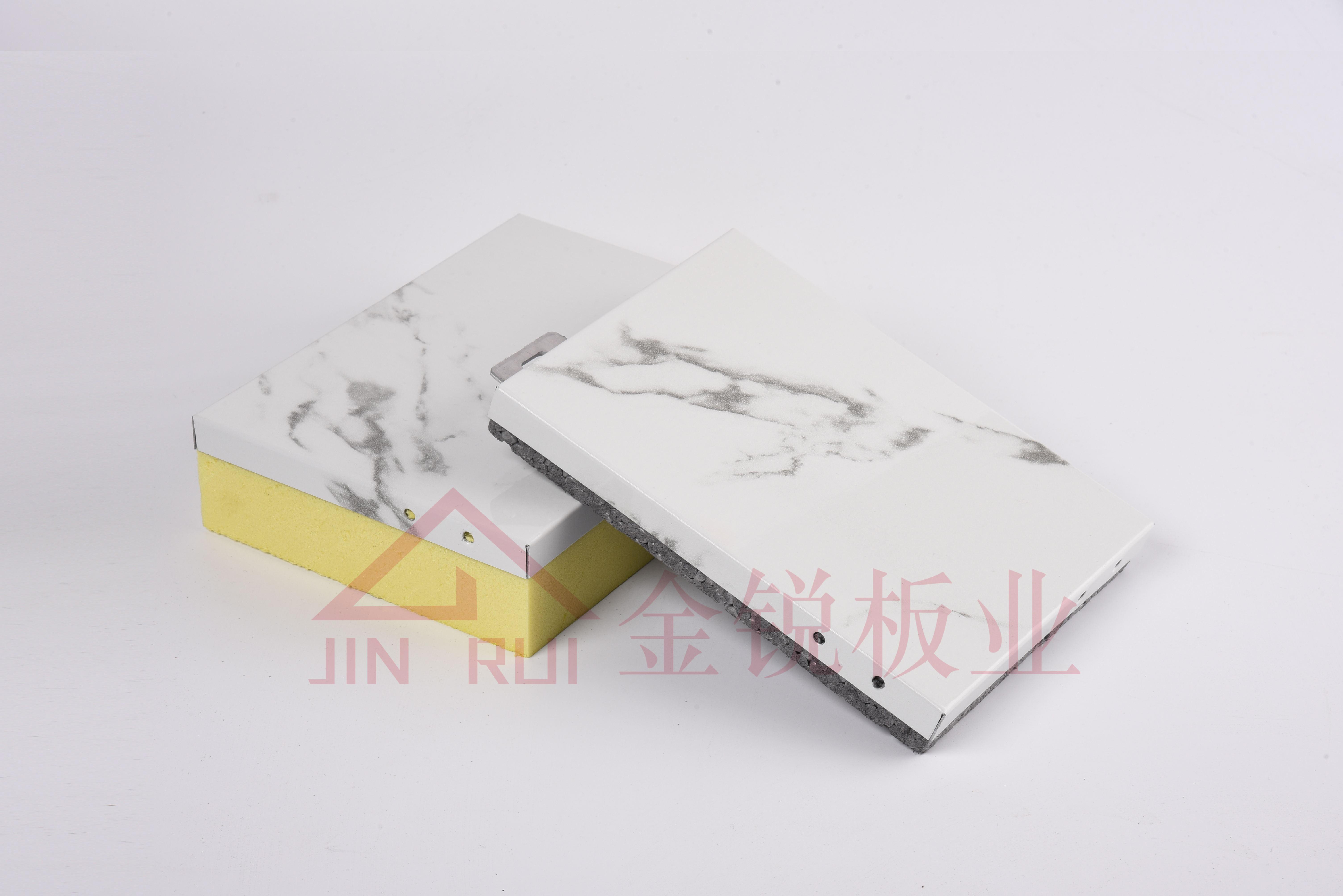 氟碳辊涂铝板保温装饰一体板